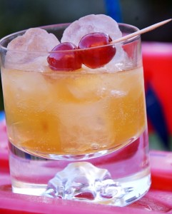 Ameretto Sour cocktail