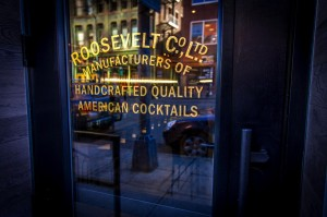 Roosevelt Bar Denver front window